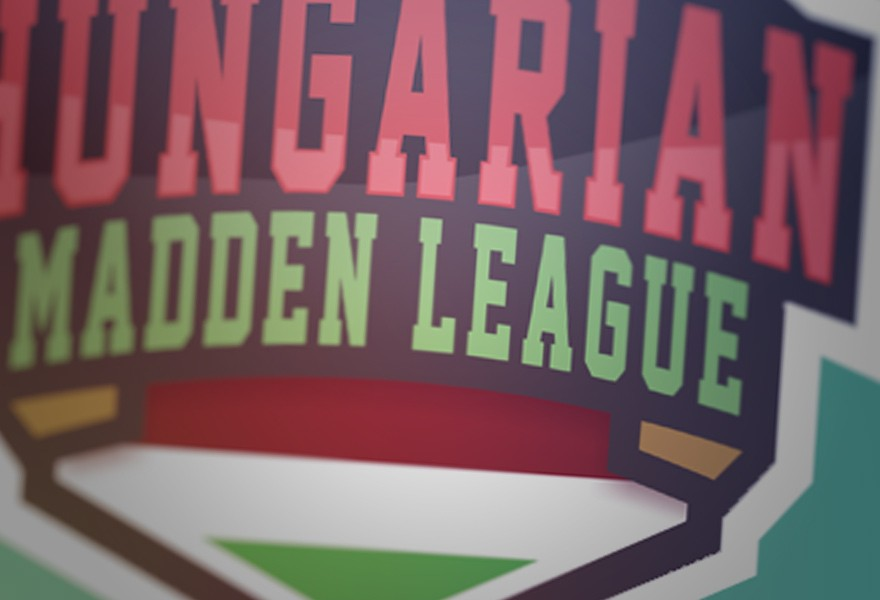 hungarian madden league sport badge logo cover image